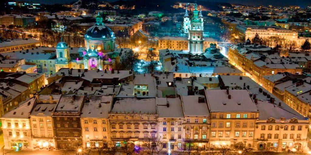 Новогодний уикенд во Львове