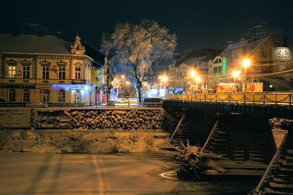 Новий Рік в Ужгороді