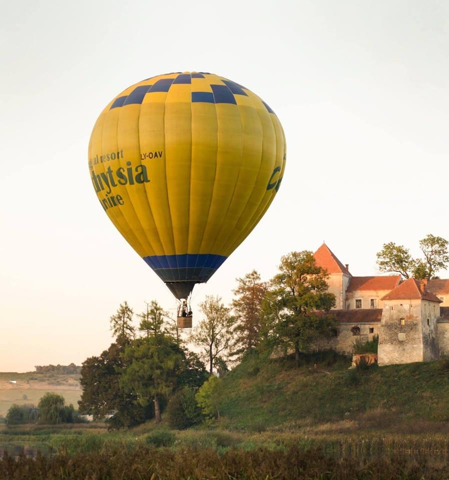 Політ на повітряній кулі біля Львова