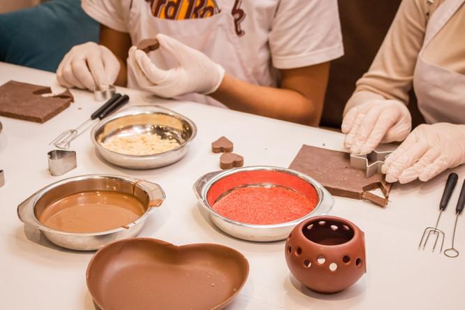 майстер-клас з виготовлення шоколадних цукерок