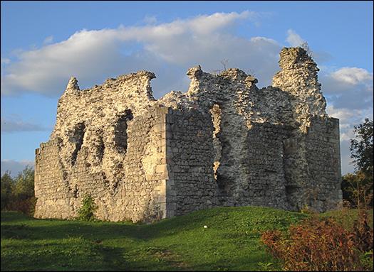 замок тамплиеров
